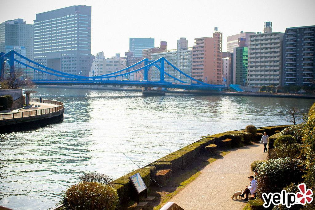 萬年橋 photo credit: ミツメ × Yelp - 萬年橋ウォーク via photopin (license)